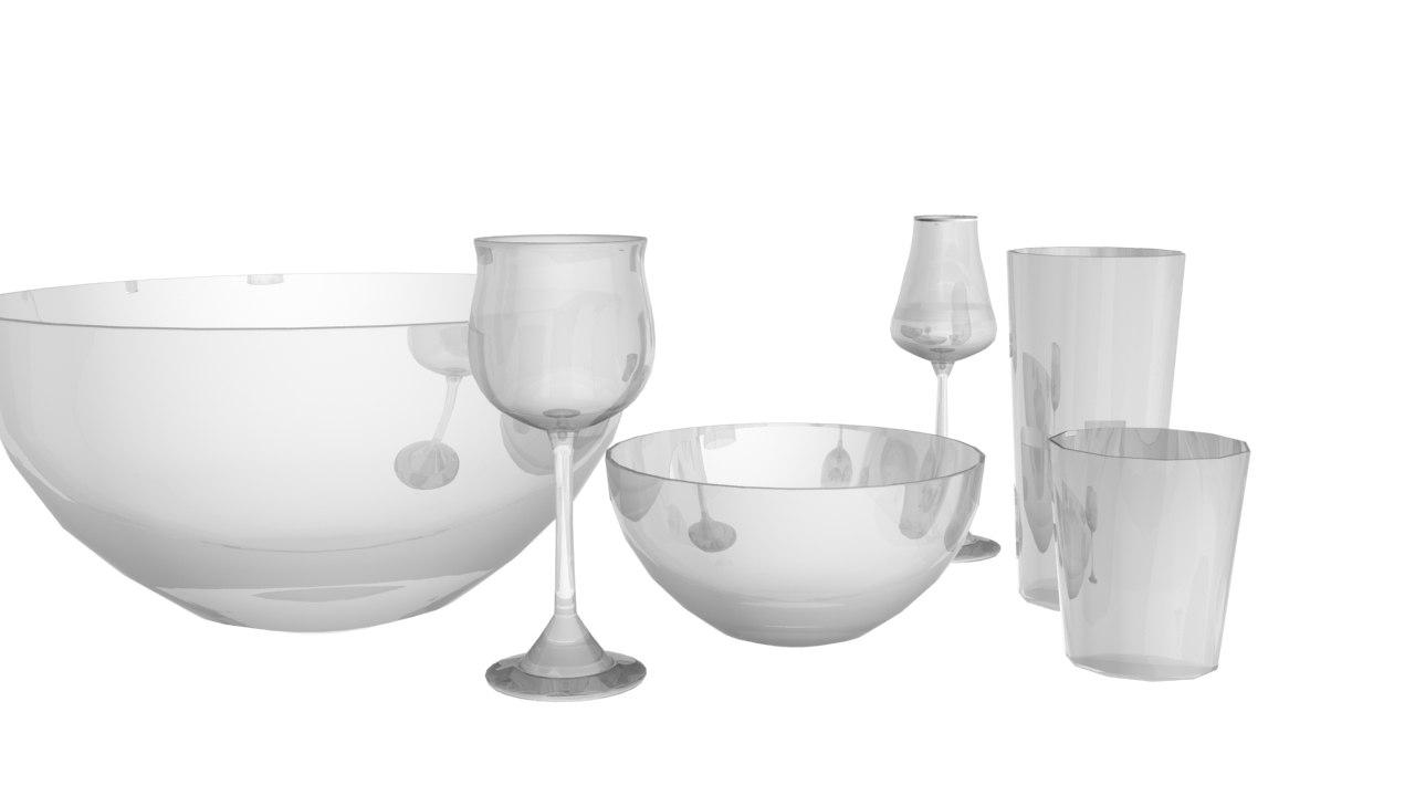 maya kitchen glass bowl