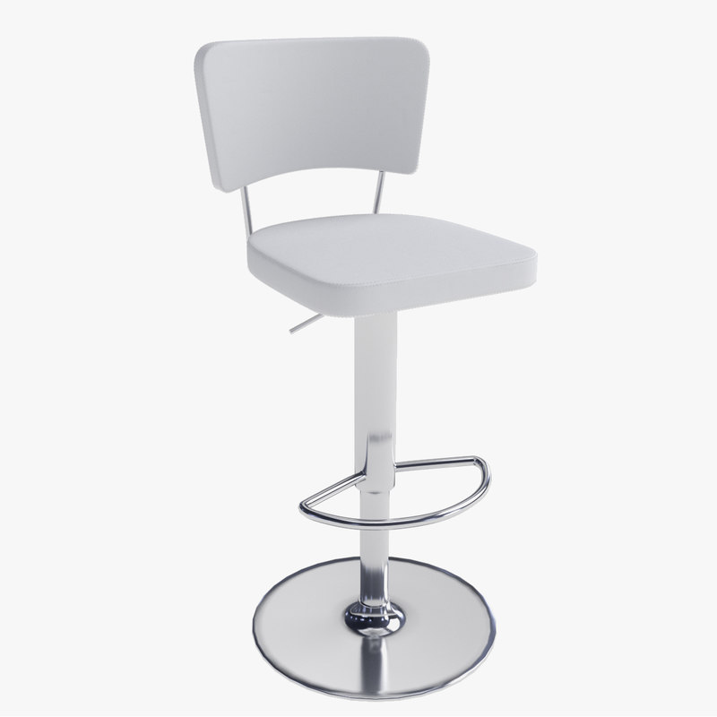 free 3ds mode bar stool 08