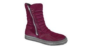 3d zara boots