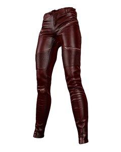 female pants leather ma