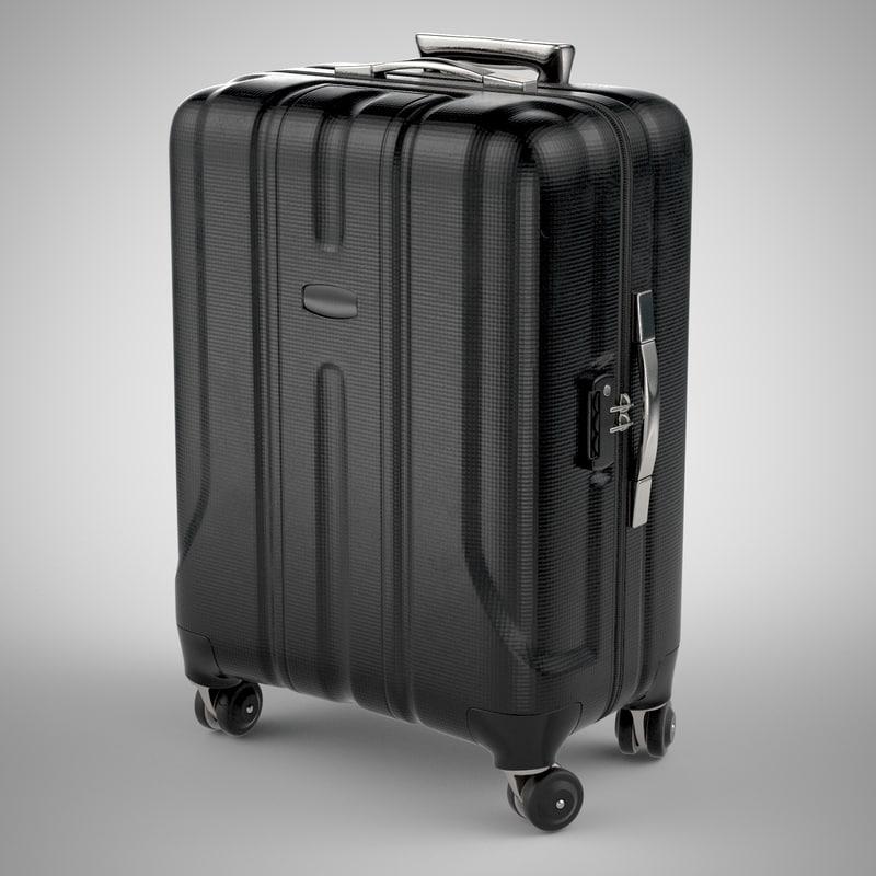 3d travel suitcase case