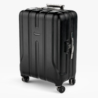 3d travel suitcase case
