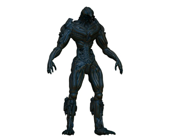 3d humanoid model