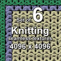 Knitwear 6x Seamless Textures