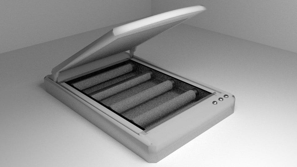 3d model computer scanner