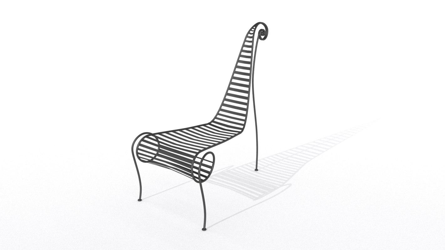 vine chair 3ds