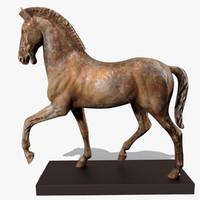 Horse Statuette (X)