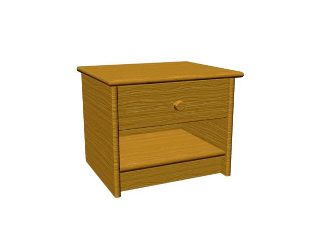 3d nightstand