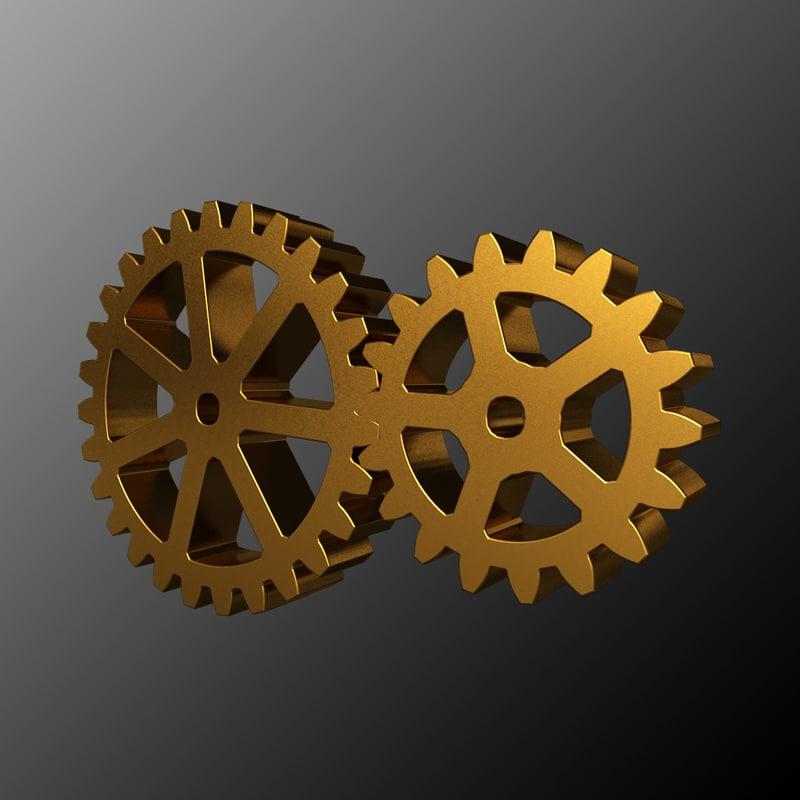 gears 3d model