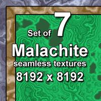Malachite 7x Seamless Textures