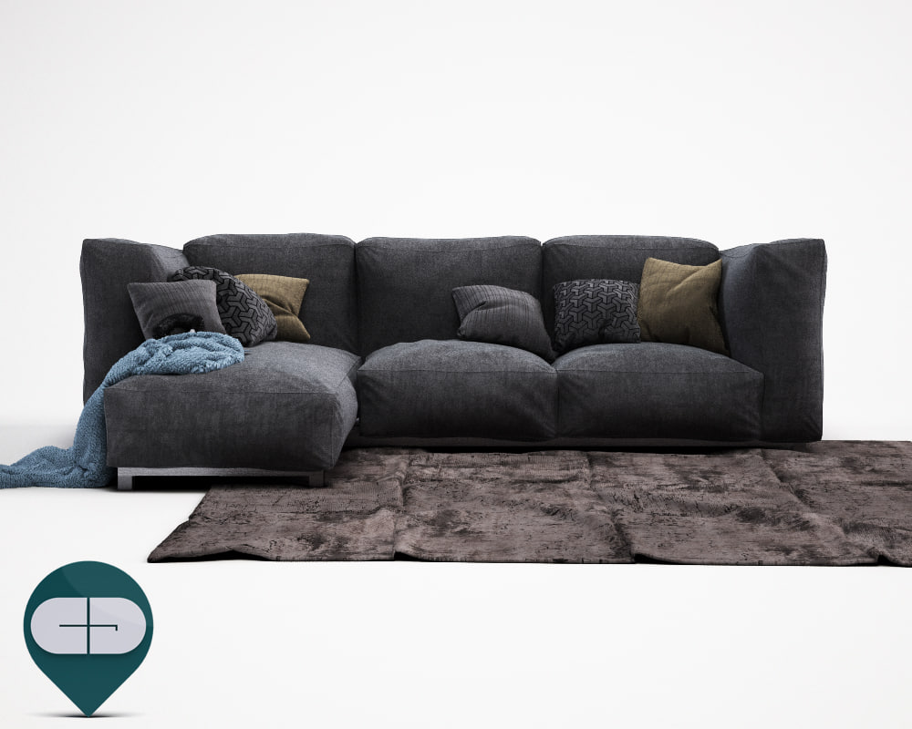 3d c4d carpet blanket