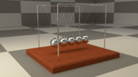 newton cradle 3ds
