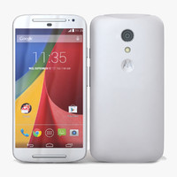 Motorola Moto G 2014 and G 2014 Dual SIM White