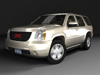 3d gmc yukon gmt900 model