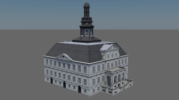 3d city hall maastricht