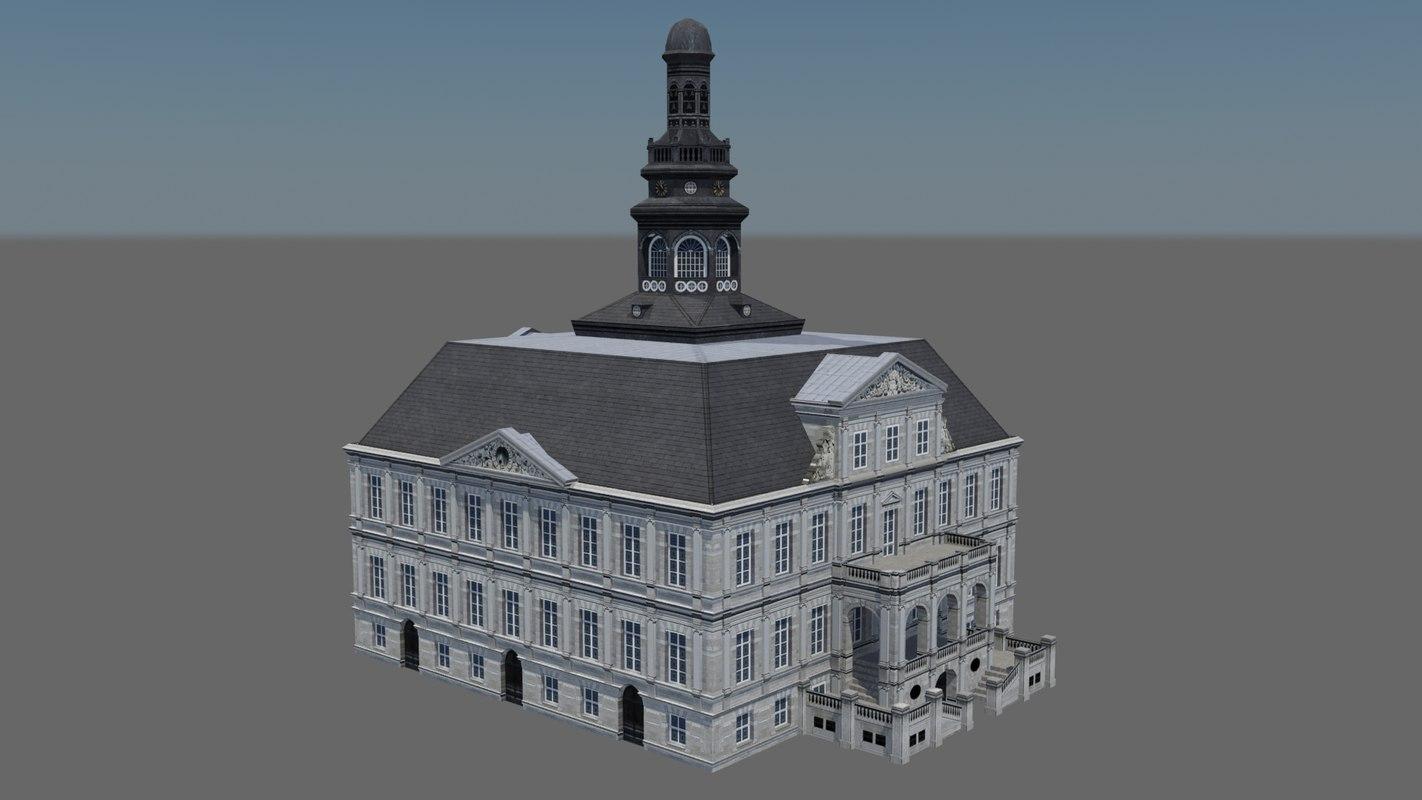 3d city hall maastricht