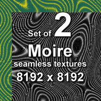 Moire 2x Seamless Textures