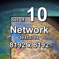 Network on Planet 10x Textures