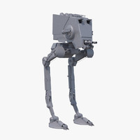 3ds max at-st walker