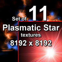 Plasmatic Star 11x Textures, set #1
