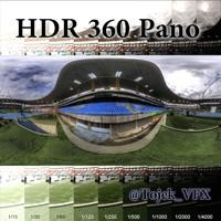 HDR 360 Pano Joao Havelange Olympic Stadium01 Engenhao