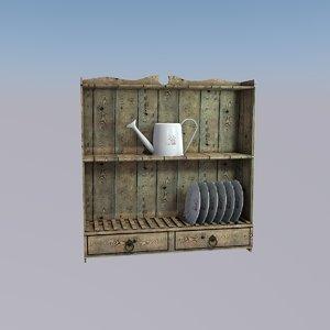 cupboard kitchen 3d model