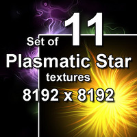 Plasmatic Star 11x Textures, set #2