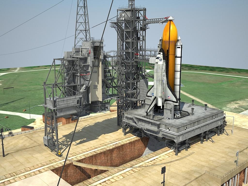 3d space nasa kennedy model