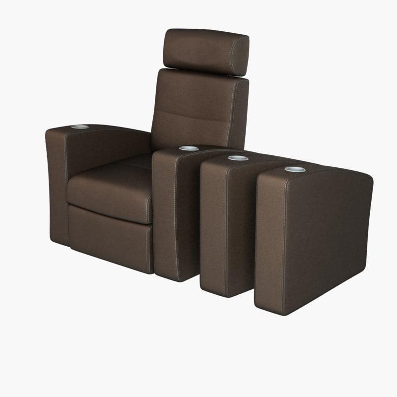 home chair modular 3ds
