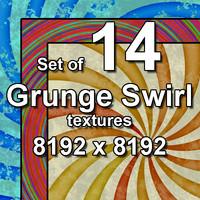 Grunge Swirl 14x Textures