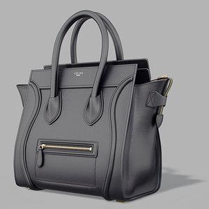 photorealistic bag 3d max