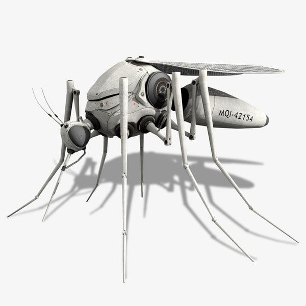 3d robotic mosquito model