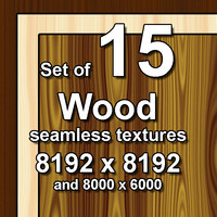 Wood 15x Seamless Textures