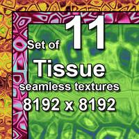 Tissue 11x Seamless Textures