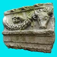 3d roman bas relief 1