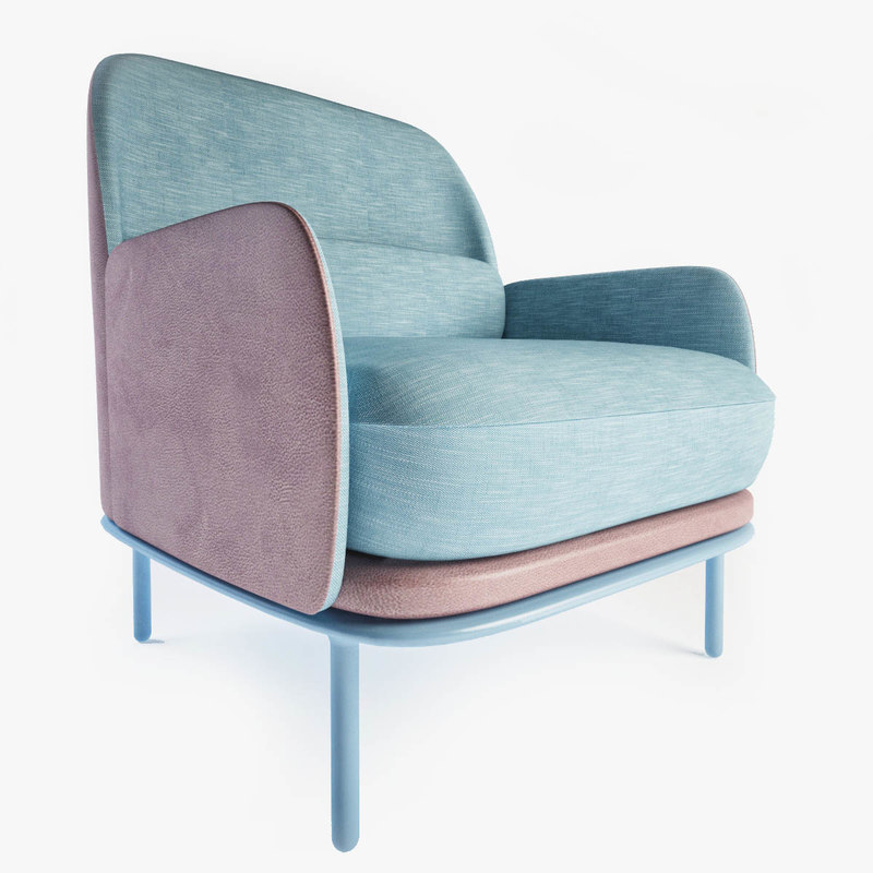 3d model beetley armchair