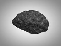 3d model asteroid rock