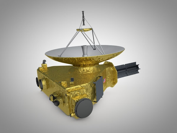 new horizons space probe c4d