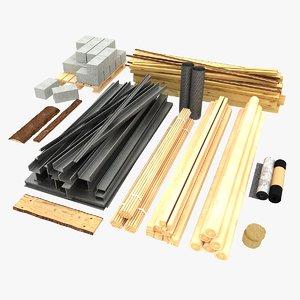 3ds building materials