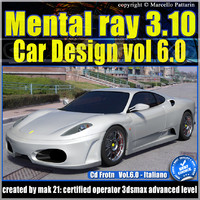 Mental Ray 3.10 In 3dsmax 2013 Vol.6 Materiali Car Paint e Inserimento Fotografico_cd front