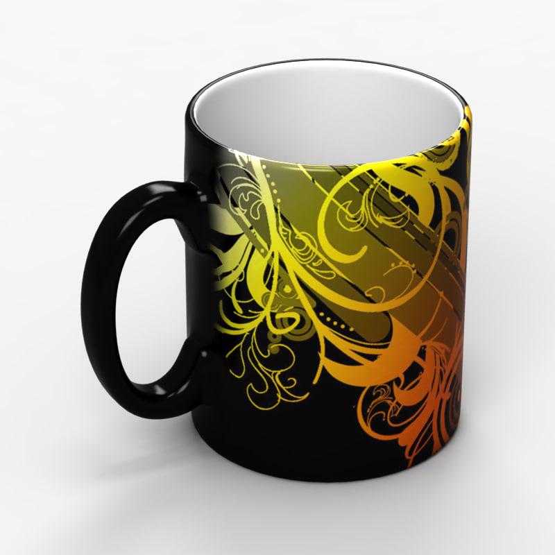 3ds max ceramic mug