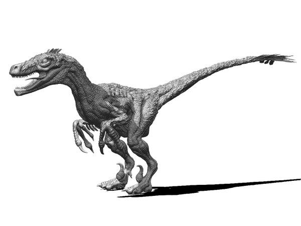 obj velociraptor raptor