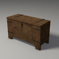 Medieval Chest, Physics Enabled Game Model