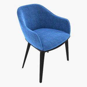 3d softshell chair vitra shell model