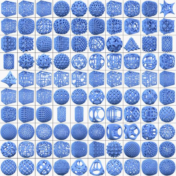 complex shape mht big 3d obj