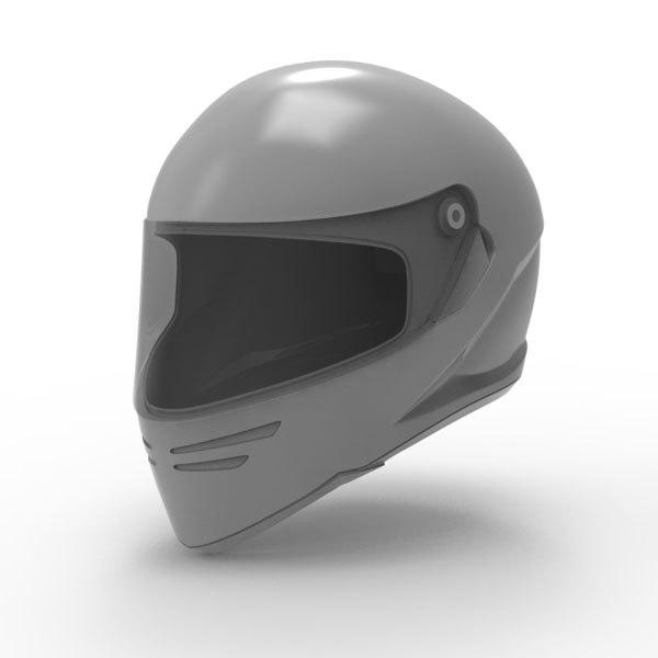 3d max motorcycle helmet