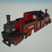 c4d fairlie historic locomotive engine