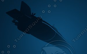 c4d submarine class typhoon
