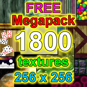 Low-Resolution 1800x Texture Megapack