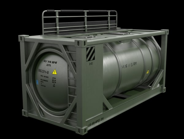 portable fuel container 3d model